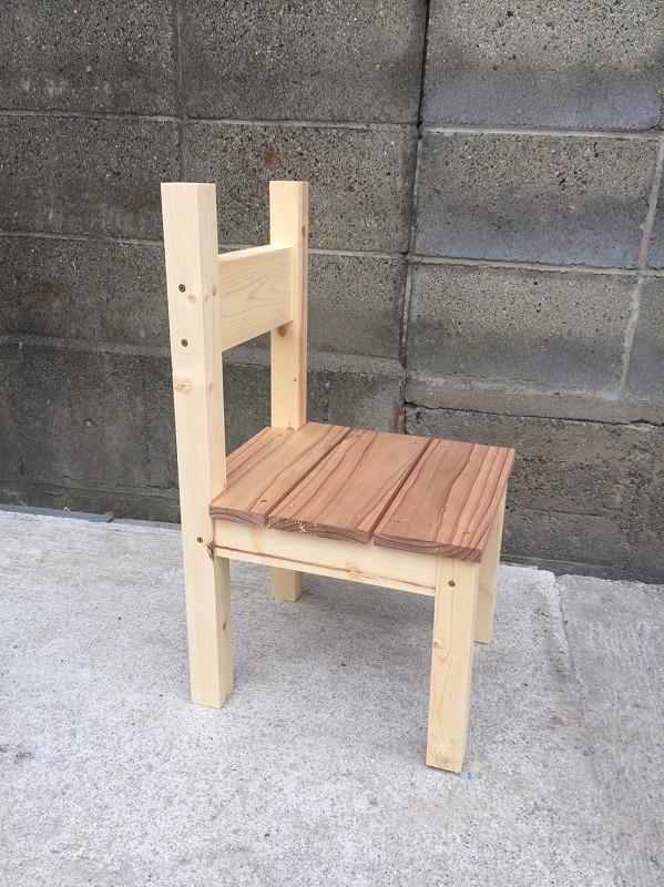 こども椅子を作ろう♪