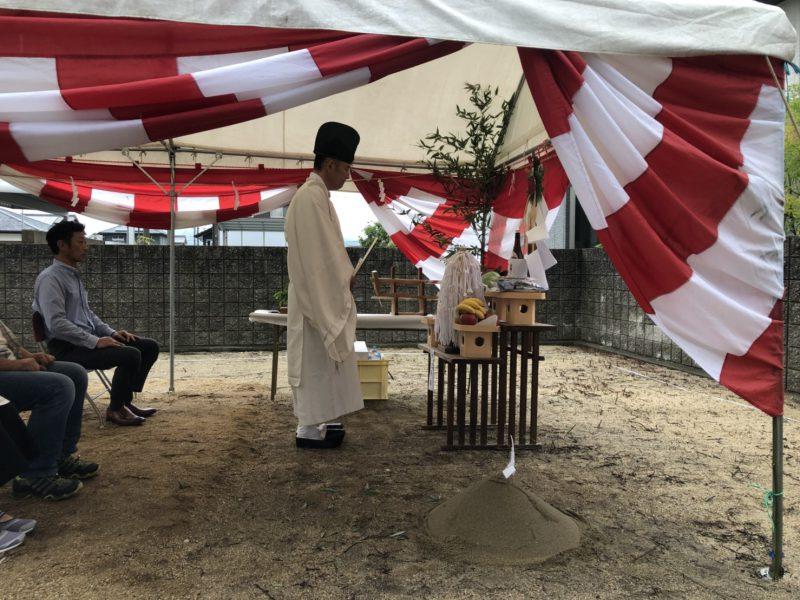 馬木のいえ 地鎮祭