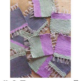 WORKSHOP DIY  ~手織りコースターを作ろう♪~